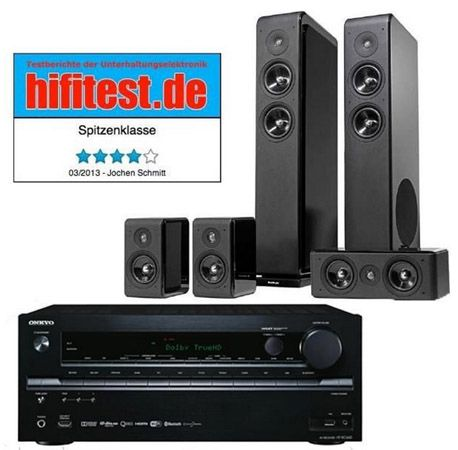 Onkyo HT RC660 Onkyo HT RC660 7.2 AV Receiver + Audio Pro Avanto 5.0 Lautsprecher für 749€