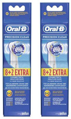 Oral B Precision Clean EB20 20 Stück Oral B Precision Clean EB20 Aufsteckbürsten für 39,90€