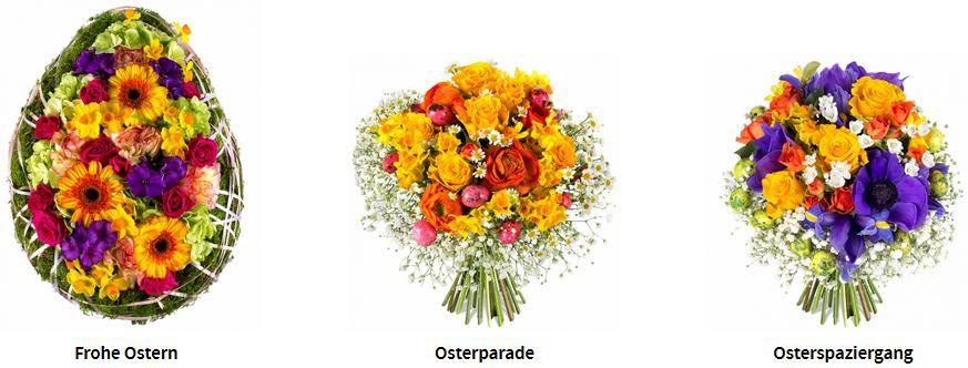 Oster Blumensträuße mit 25% Rabatt bei Miflora   Update