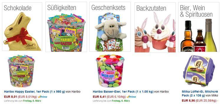 Fürs Osternest: Süßigkeiten, Schokolade & mehr günstig @Amazon