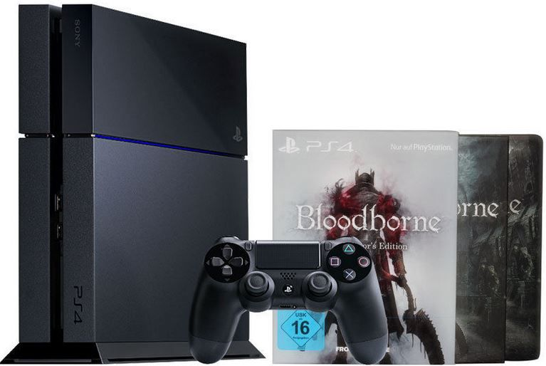 Sony PlayStation 4 / PS4 500GB + Bloodborne Collector´s Edition für 379,90€