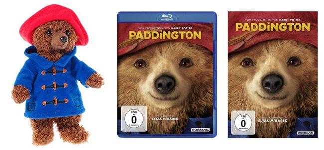 Paddington Kostenloses Paddington Stofftier zu jeder Vorbestellung des Films