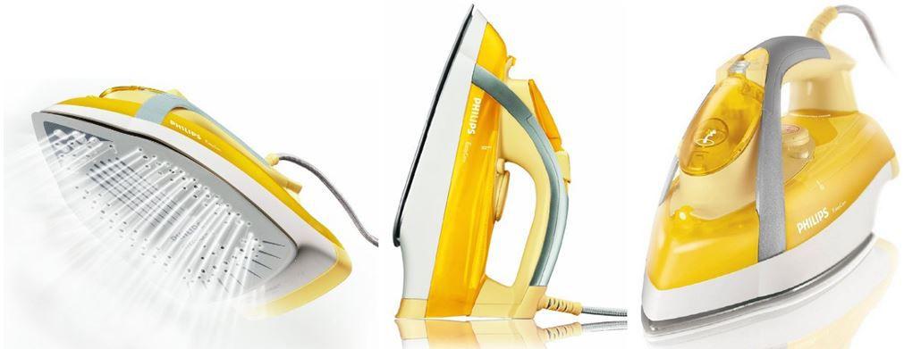 Philips GC3335/02 Elegance   Design Dampfbügeleisen mit SteamGlide für 33€