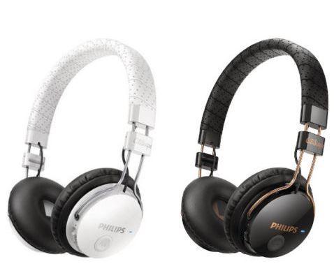 Philips SHB8000WT/00 CitiScape Foldie   Bluetooth Stereo Kopfhörer mit Mikrofon für 29,99€