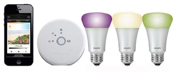 Philips Hue Bulb Starter Set für 156,07€   3 x E27 9W, Bridge, WLAN