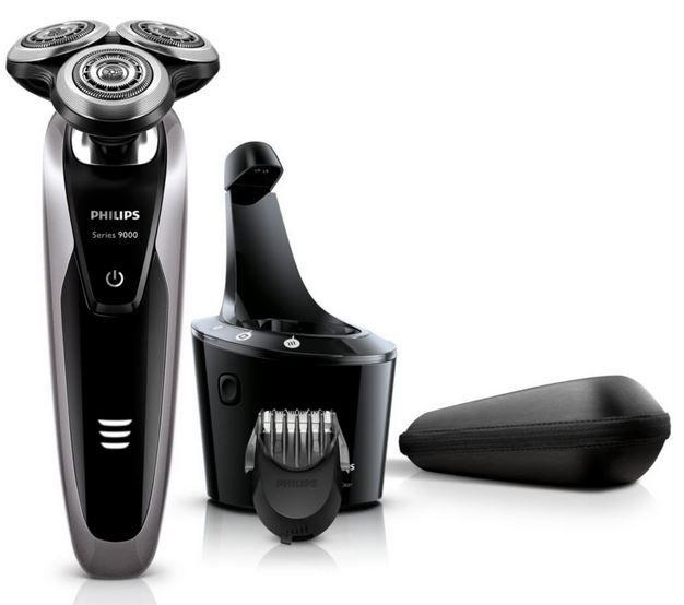 Philips S9111/31   Elektro Nass  und Trockenrasierer für 185,98€