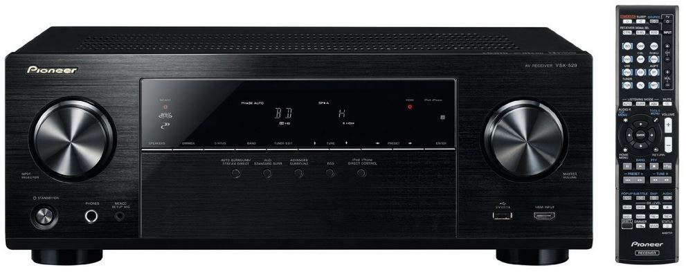 Pioneer VSX 529 K   5.1 Receiver mit Spotify Connect AirPlay für 201,99€