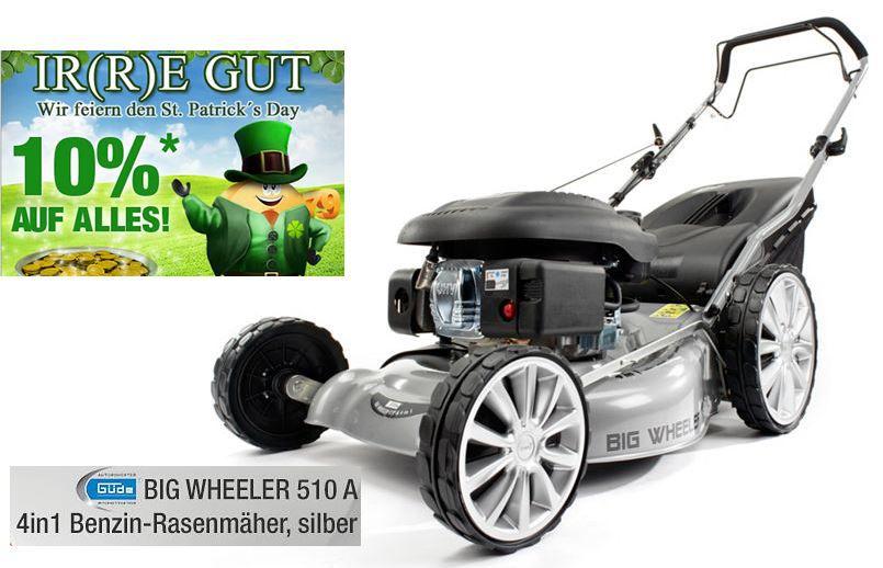 Güde BIG WHEELER 510 A Benzin Rasenmäher für 224,96 bei der Plus.de 10% Rabatt Aktion auf fast alles bis Mitternacht