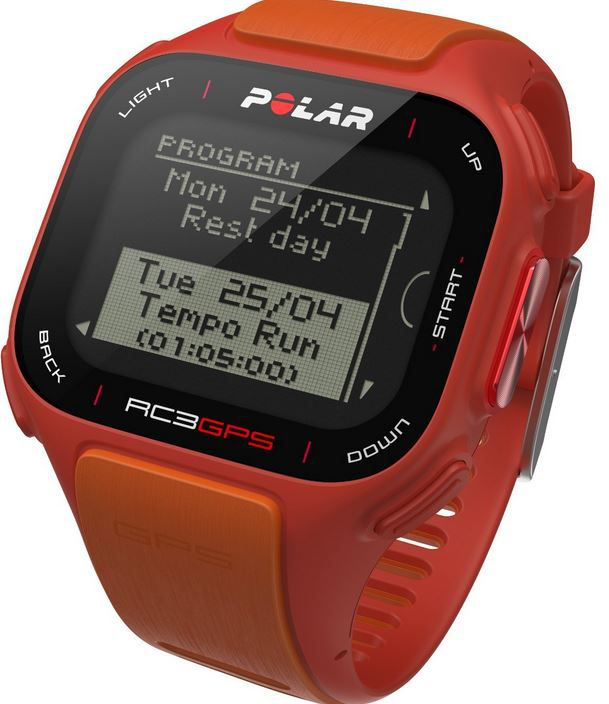 Polar Polar RC3 GPS Pulsuhr mit Herzfrequenzmesser für 124,90€   Update
