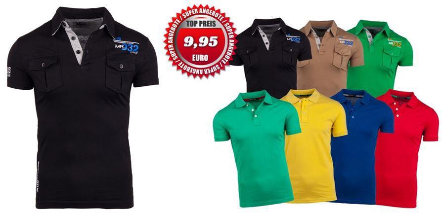 Stegol und Glo Story   Herren Poloshirts für je 9,95€