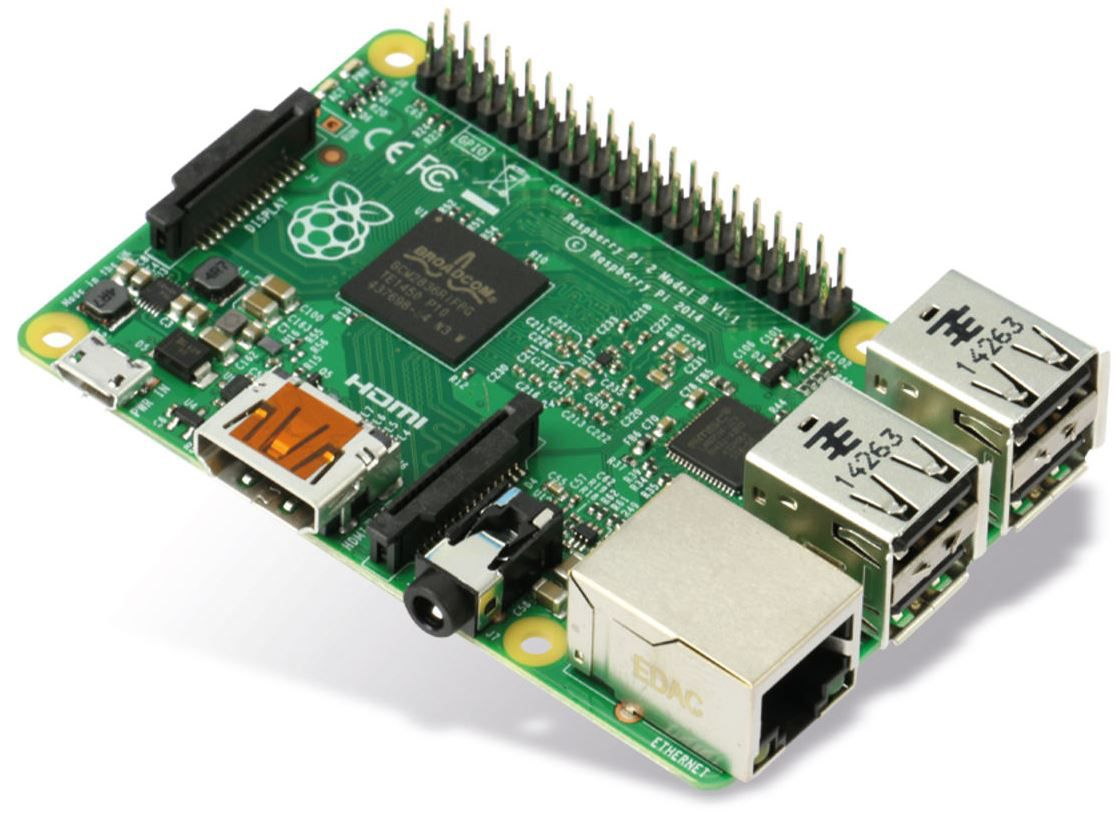 Raspberry Pi 2 Model B 1GB   mini Platinen PC  für 33,48€   Update