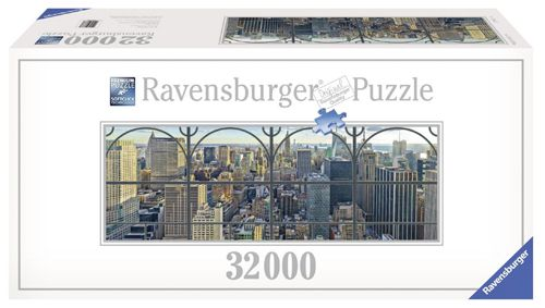 Ravensburger 17837 Ravensburger 17837   New York City Window Puzzle mit 32.256 Teile für 122,43€