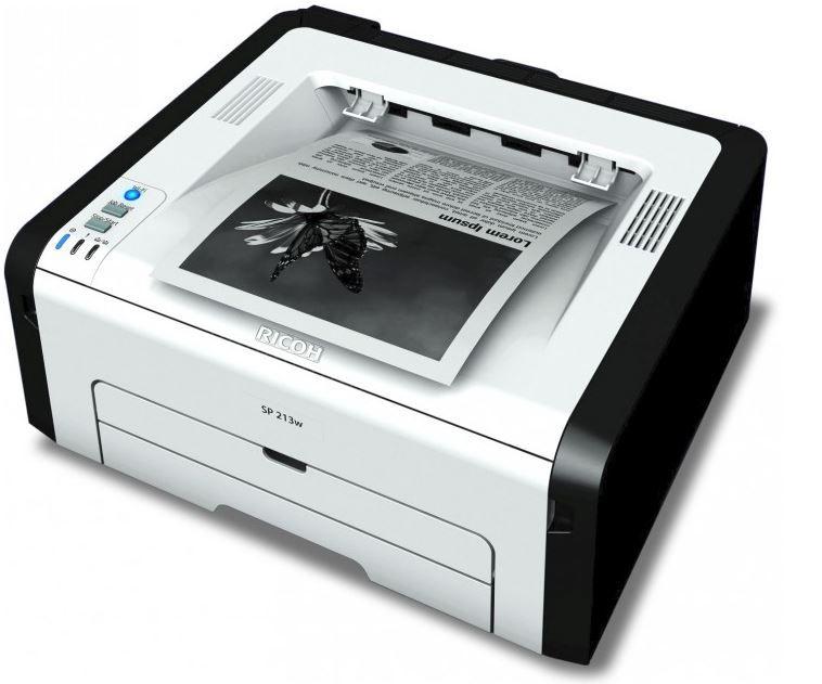 Ricoh SP 213w RICOH SP 213w Laserdrucker für nur 49€