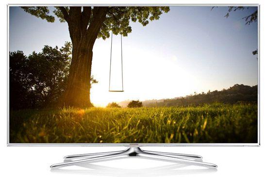 Samsung UE55F6510 TOP! Samsung UE55F6510   55 Zoll 3D LED Fernseher mit WLAN, Sprachsteuerung und Triple Tuner für 705,99€