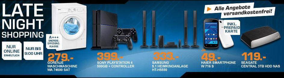 SAMSUNG HT H5550W   Heimkino System ab 328€ und mehr Saturn Late Night Shopping Angebote