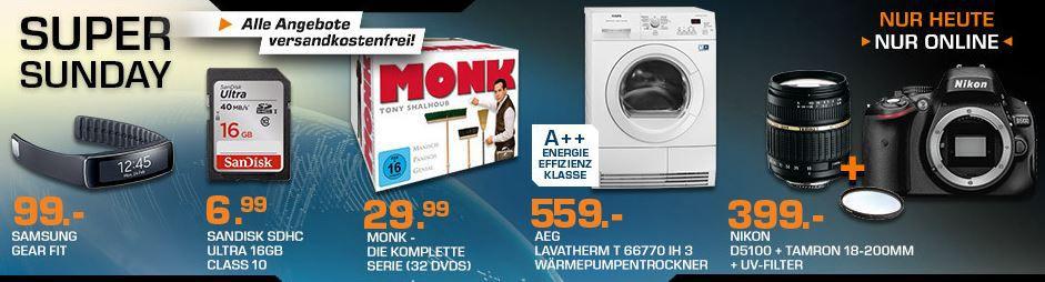 Monk   alle Staffeln (32 DVD) für 29,99€ und mehr Saturn Super Sunday Angebote