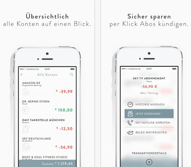 App Tipp: Kontoalarm hält den Überblick über Finanzen (Gratis)