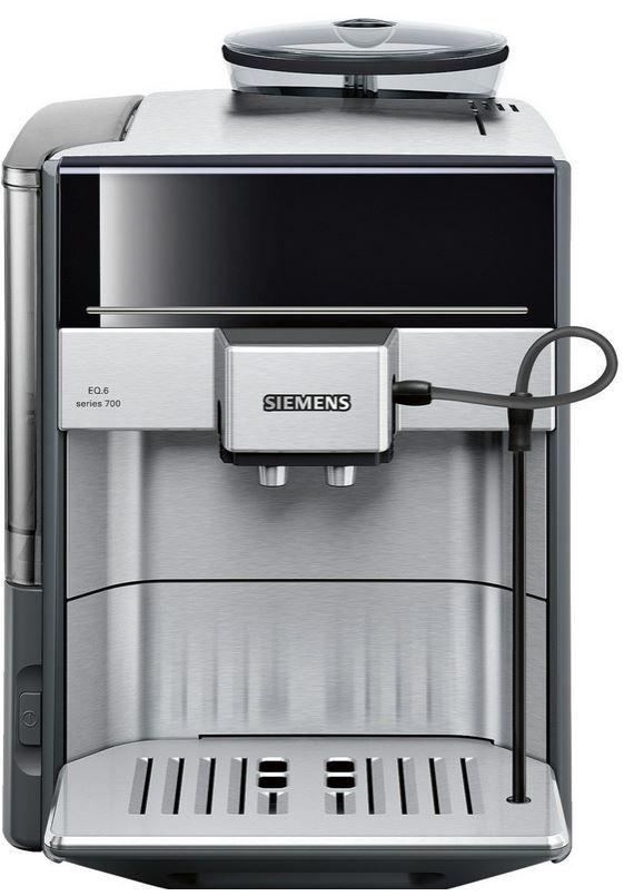 Siemens TE Kafeemaschine Siemens TE607503DE EQ.6 Serie 700   Edelstahl Kaffeevollautomat mit oneTouch DoubleCup für 699€   Update!