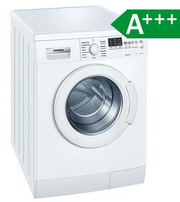 Siemens WM14E4ED ecoEdition Waschmaschine für 349€   7kg, Frontlader, 1.400 U/min, A+++