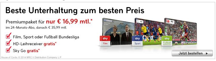 Sky Angebote in der Übersicht   von kostenlos bis all in für 34,99€   Update