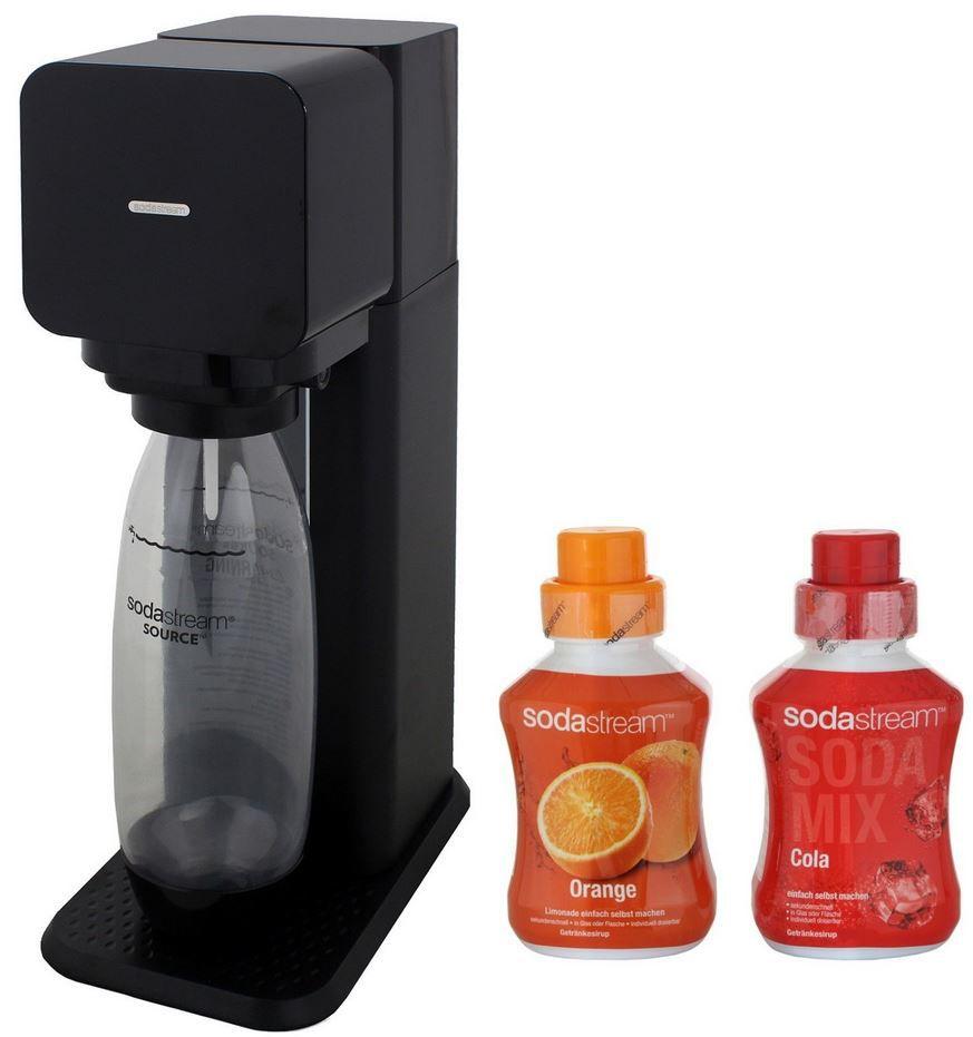 SodaStream Play Wassersprudler + Zylinder + 2 x Sirup 600ml für 59,90€