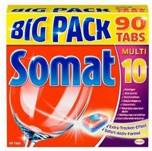 Somat 10 Big Pack Somat 10 Big Pack   450 Stück Geschirrspültabs als Bruchware für 22,22€