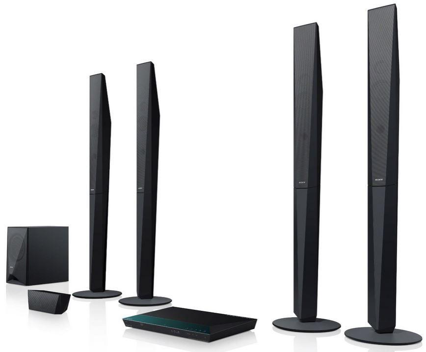 Sony Homecinema System Sony BDV E6100   5.1 Heimkinosystem mit 3D Blu ray Player für 299€