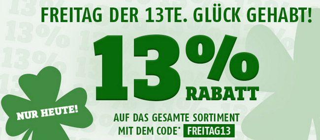13% Rabatt auf ALLES bei SportScheck   z.B. GoPro HERO 4 Silver Adventure für 335,68€