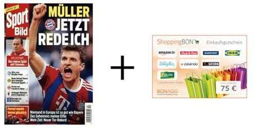 Sportbild Sportbild Jahresabo für effektiv 33,65€ dank 75€ Gutschein Prämie