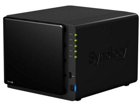 Synology DiskStation DS412+ NAS Server für 393,19€ als Warehousedeal   Zustand Sehr gut