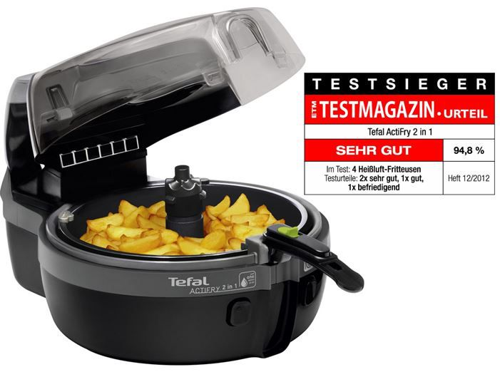 Tefal Tefal YV9601 Actifry 2in1 Heissluft Fritteuse für 169,90€