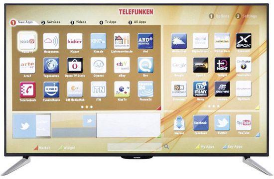Telefunken L55F243A3C Telefunken L55F243A3C   55 Zoll Full HD Fernseher mit WLAN und Triple Tuner für 379€   B Ware!
