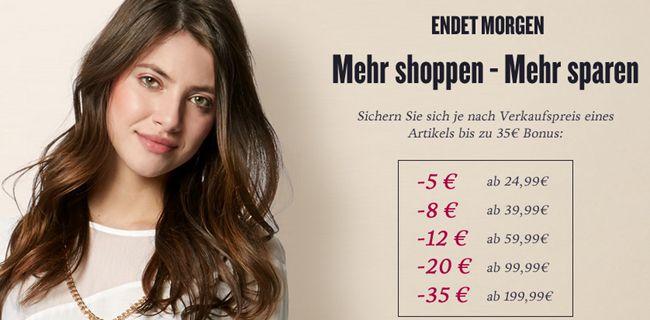 Tom Tailor mit bis zu 35€ Sofortrabatt pro Artikel   gilt nicht auf reduzierte Ware