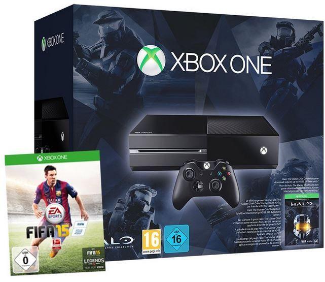 Xbox One Konsole  + Halo + FIFA 15 für 359€   Update