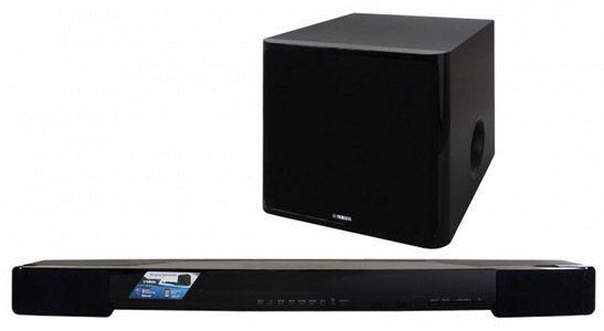 Yamaha YAS 203 Yamaha YAS 203   TV Soundbar mit wireless Subwoofer und Bluetooth für 299€