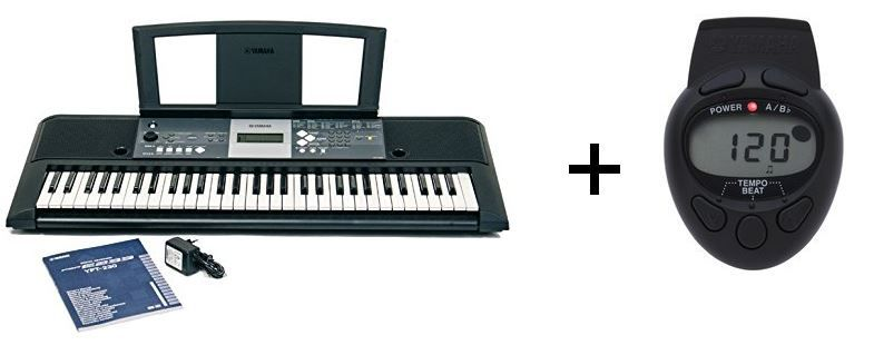 Yanaha Yamaha YPT 230 Keyboard + gratis Metronom für 119€