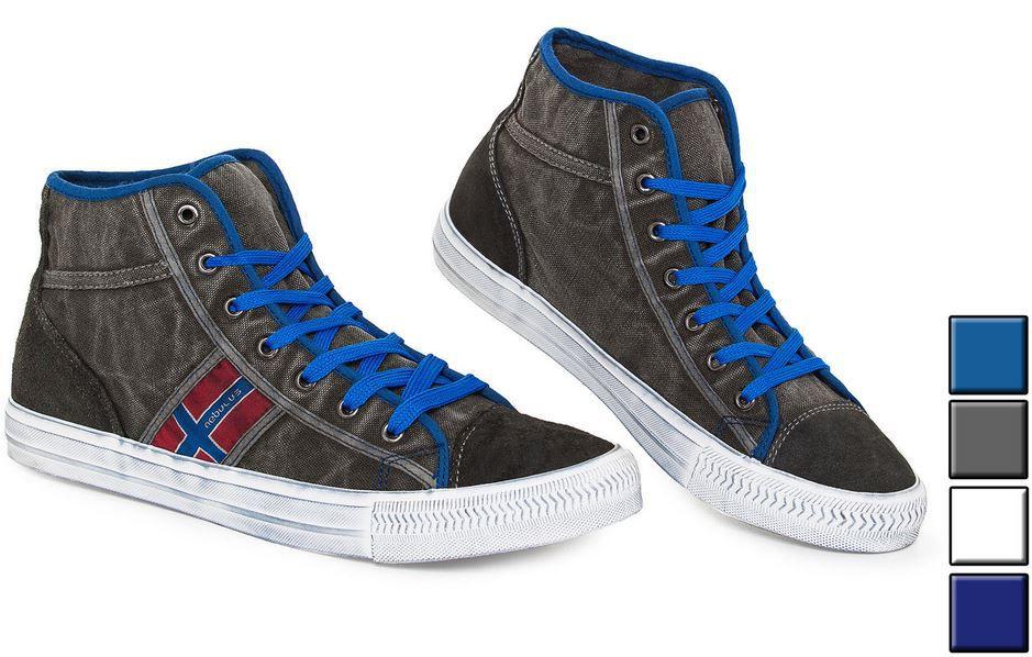Nebulus York   Leder Sneaker für Damen und Herren je Paar 29,99€