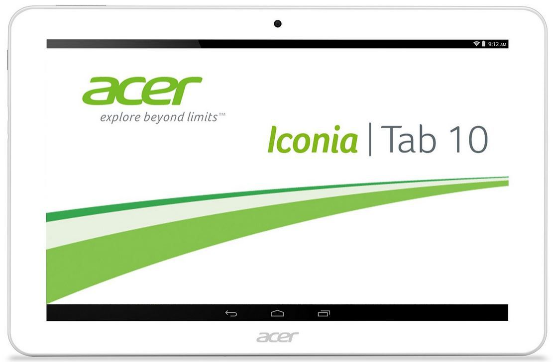 acer Tab 10 Acer Iconia Tab 10 A3 A20   10 Zoll Quad Core Tablet mit 32GB für 216,49