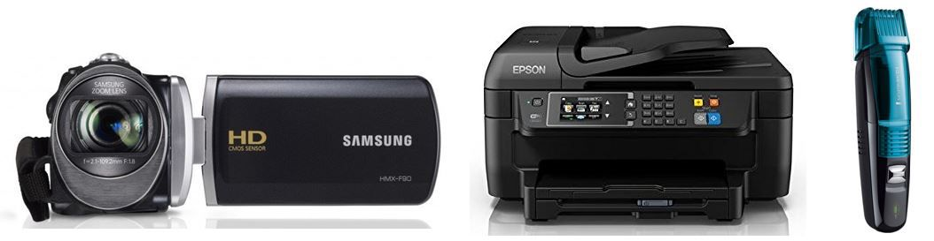 Samsung HMX F90 HD Camcorder   bei den 47 Amazon Blitzangeboten bis 11Uhr
