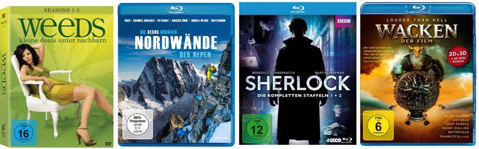 dvds2 Sherlock   Staffel 1 ab 12,97€ bei den Amazon DVD und Blu ray Angeboten der Woche
