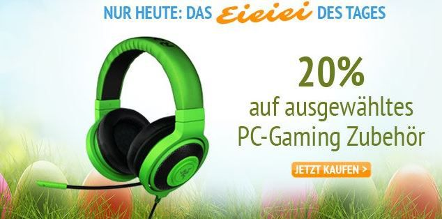 eieiei Mad Catz R.A.T.5 Gaming Maus für 46,40€ bei der Amazon 20% auf PC Gaming Zubehör Aktion