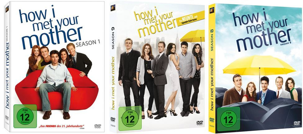 How I Met Your Mother: Alle Staffeln zum Sonderpreis ab 8,97€