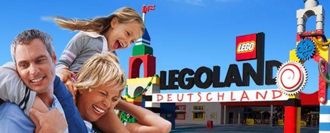 legoland Preisfehler! Legoland Tageskarte für 18,45€   ab 2 Stück je 17€