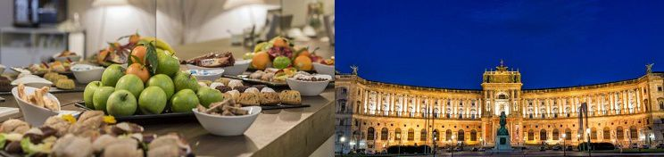 2   3 ÜN im 4* Hotel in Wien inkl. Frühstück, Wellness und Aperitif ab 89€ p. P.