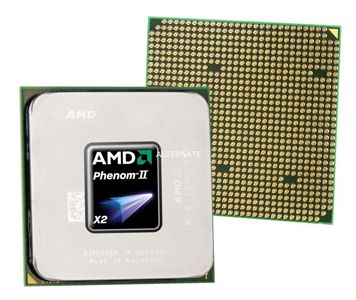 AMD Phenom II X2 560 Dual Core Prozessor für 24,99€   3,3 GHz, AM3 Sockel