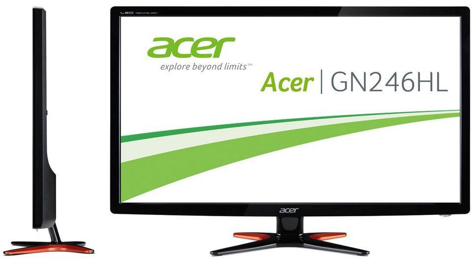 Acer Predator G246HLF   24 Zoll Gamer Monitor mit 1ms Reaktionszeit HDMI für 122€