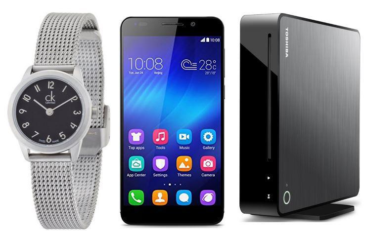 Honor 6 Smartphone für 269,99€   bei den 59 Amazon Blitzangeboten ab 18Uhr
