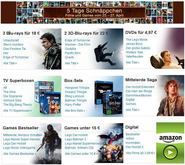 Amazon DVD und Blu ray Angebote Edge of Tomorrow   Live Die Repeat [Blu ray] ab 7,97€ bei den 5 Tage Film und Games Schnäppchen   Update