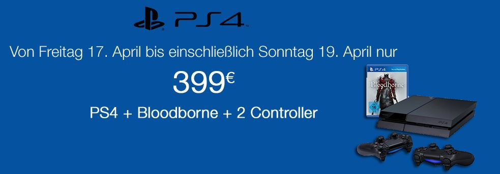 Amazon PS4 Angebot