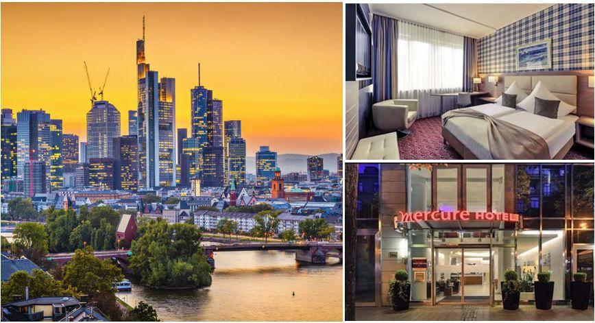 Gutschein für 2 Personen 2 Nächte im 4* Superior Hotel Mercure Kaiserhof in Frankfurt für 99,99€
